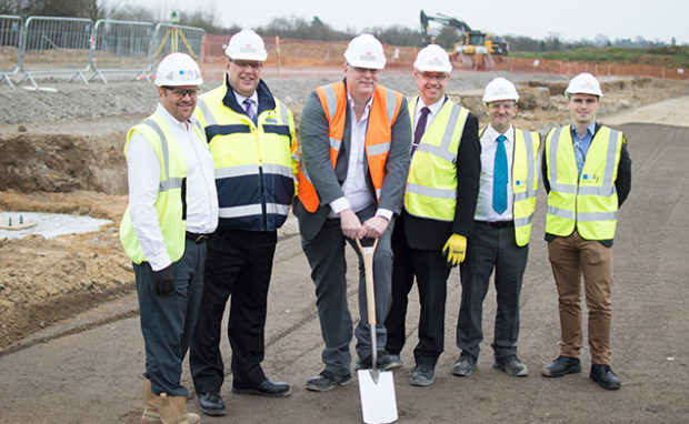 breaking ground at ashdown business park