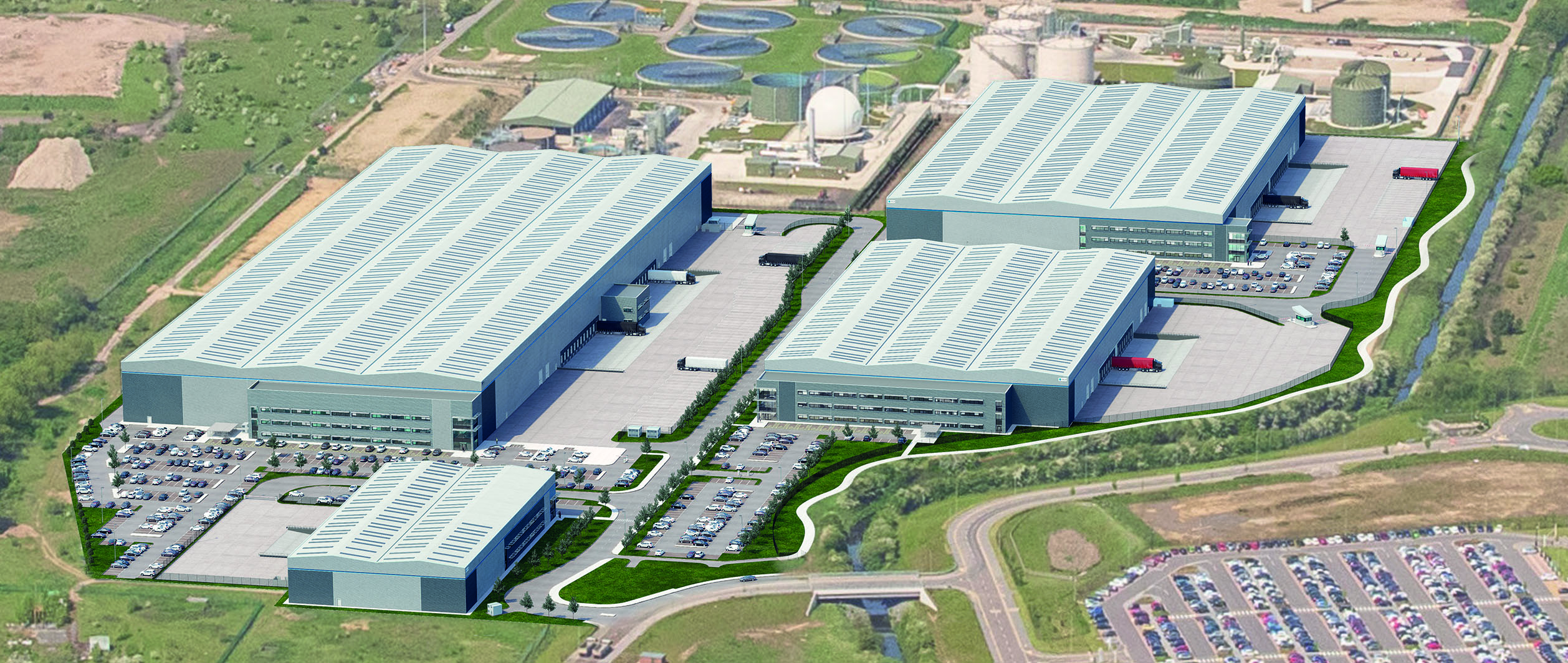 leeds logistics warehouse - PLP gateway 45