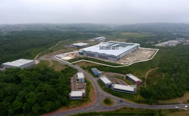 PLP Smithywood, Sheffield - First Net Zero Carbon Ready speculative Logistics building - UK