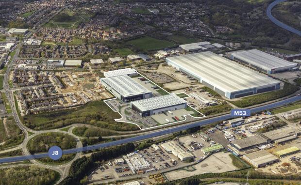 PLP Ellesmere Port speculative logistics warehouses